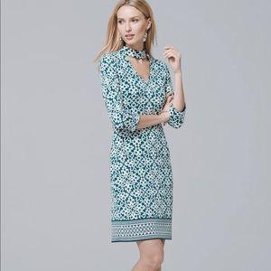 White House Black Market Reversible Dress XL